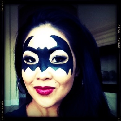 Gallery Batgirl Eye Mask Makeup